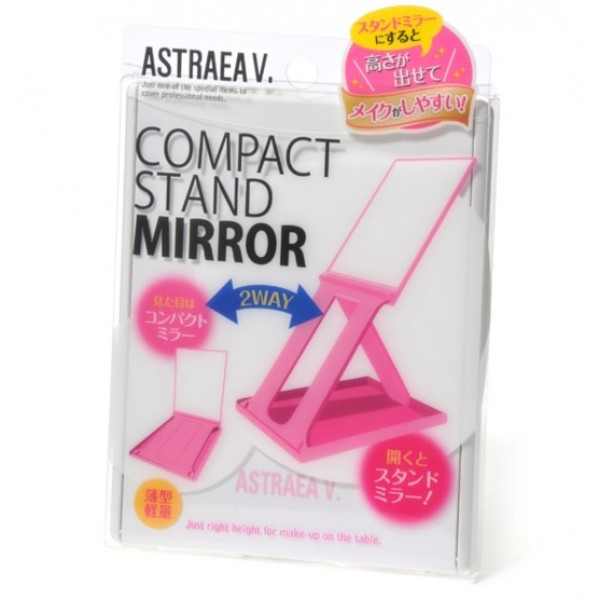 Compact Stand Mirror ( 2way ) WH 白色兩用高架化妝鏡