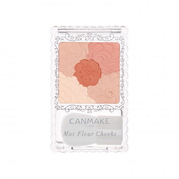 Mat Fleur Cheeks 花漾柔啞胭脂 (05 南瓜橙啡)