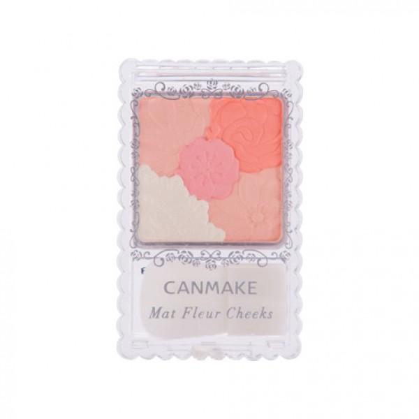 Mat  Fleur Cheeks 花漾柔啞胭脂 (03 珊瑚橙)