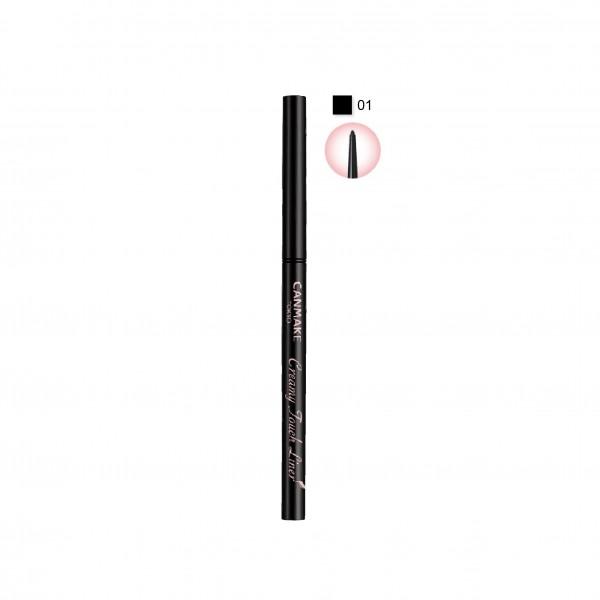 Creamy Touch Liner 柔滑眼線筆 (01亮黑色)