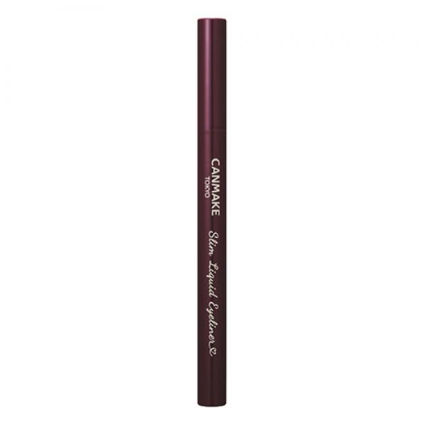 CANMAKE Slim Liquid Eyeliner 極緻纖細眼線液 - 02 Brown 啡色