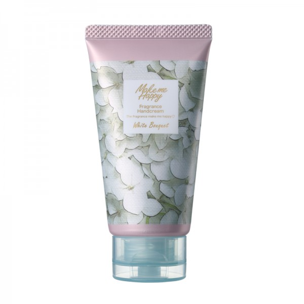 Make Me Happy Fragrance Hand Cream 美樂潤手霜 (01 White Bouquet )