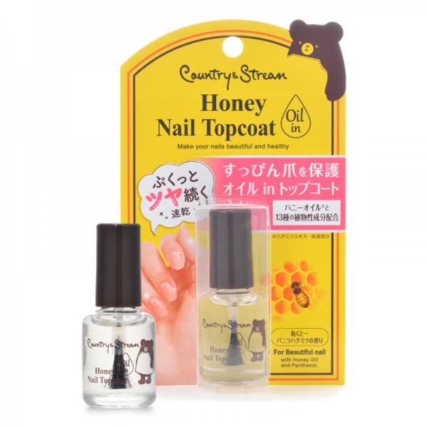 Honey Nail Topcoat  蜂蜜指甲修護光油