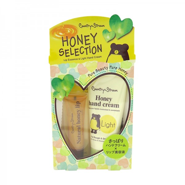 Honey Selection - Lip Essence & Light Honey Hand Cream