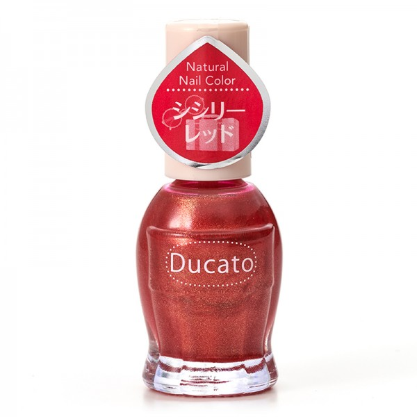 Ducato Natural Nail Color N117 Sicily Red西西里茄紅 (限定)