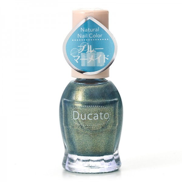 Ducato Natural Nail Color N119 Blue Mermaid 美人魚藍色(限定)