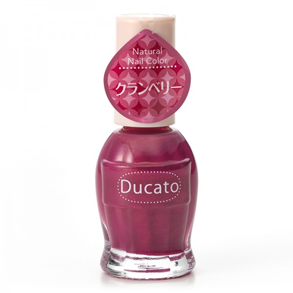 Ducato Natural Nail Color N121 Cranberry 蔓越莓紫紅色 (限定)