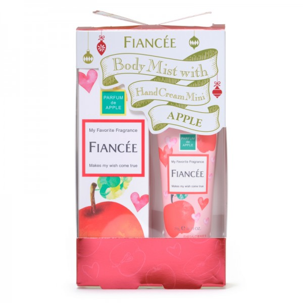 FIANCEE Body Mist Apple With Hand Cream Mini Coffret 蘋果香水連潤手霜套裝