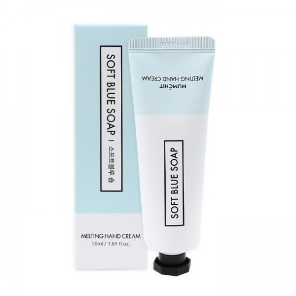 MUMCHIT Melting Hand Cream 香氛護手霜 - Soft Blue Soap (肥皂花香味)