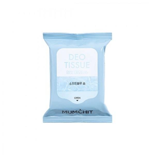 MUMCHIT Deo Tissue 香水濕紙巾 - Soft Blue Soap (肥皂花香味)