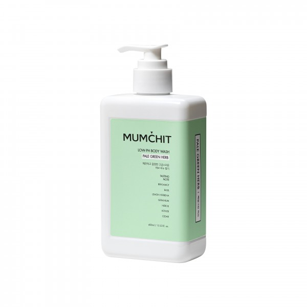 MUMCHIT Body Wash 沐浴露 - Pale Green Herb (翠綠草香味)