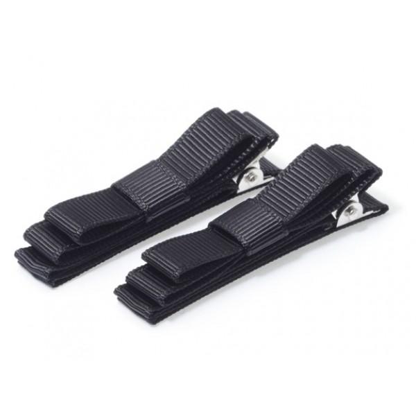 Ribbon Clip ( Black ) 黑色無痕髮夾