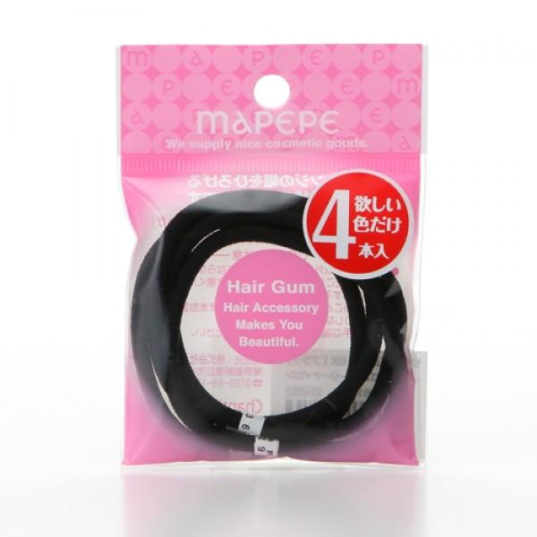 Ring Elastic 4P Black 黑色橡筋