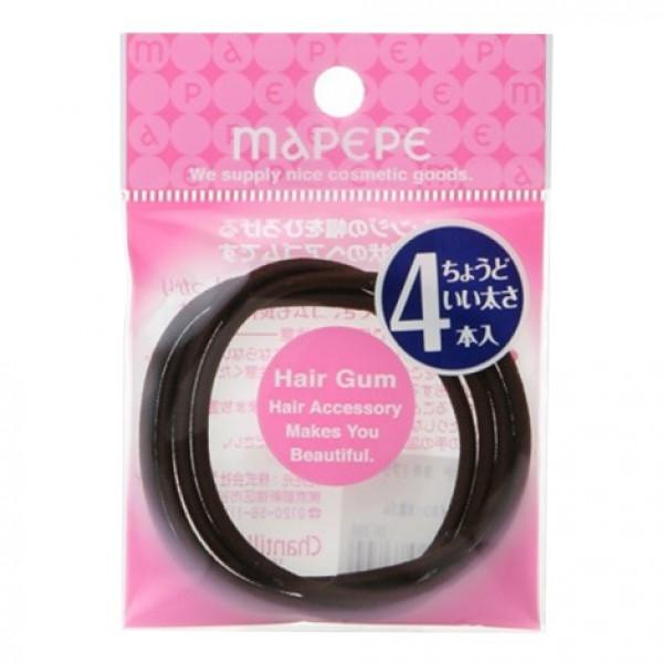 Ring Gum M 4P Brown 啡色橡筋
