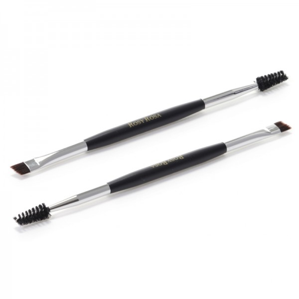 Double End Eyebrow Brush Screw Type 雙效螺旋眉掃